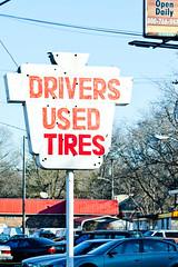 Drivers Used Tires (Thomas Hawk) Tags: usa neon unitedstates nashville tennessee unitedstatesofamerica fav10 driversusedtires