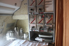 TU-154 Food Service area (Ray Cunningham) Tags: air north korea airlines dprk coreadelnorte koryo