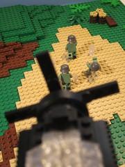 Strafe run (cebtrek) Tags: lego wwii brickarms