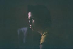 Movie screen (Andrey Timofeev) Tags: light portrait color film girl face look wall night analog 35mm reflections dark photography evening focus mood colours shadows gloomy time russia bokeh room grain atmosphere shades analogue manual outlines tones canonae1program портрет moviescreen ночь свет лицо цвет фотография девушка стена вечер smalldof цвета взгляд комната colornegativefilm отражения spellbinding smalldepthoffield настроение тени время 35мм темно атмосфера оттенки контуры зерно плёнка мрачный бокэ тона canonlensfd50mm14 october2014 завораживающий fujifilmfujicolor400japanver processbefore072016 киноэкран