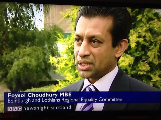 Foysol Choudhury MBE in BBC NEWS