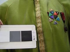 Detail of William Shatner Captain Kirk dress uniform (Karl Tate) Tags: startrek gregjein captainkirkdressuniform