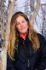 Lucille (nevadoyerupaja) Tags: winter usa girl outdoors skiing wyoming backcountryskiing tetonpass