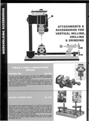 Watchmaker Tools Catalog Page i Unimat 1969 Catalog 5 in 1 Machine Tool Steadyryan