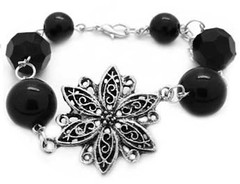 5th Avenue Black Bracelet P9111-4-1