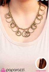 5th Avenue Brass Necklace K2 P2441-1