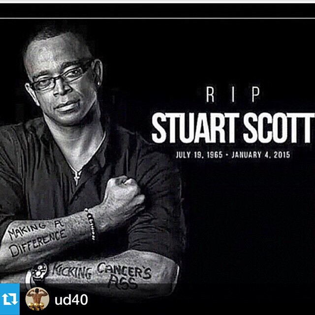 #Repost @ud40 with @repostapp.・・・RIP to STUART SCOTT. This man change the game of sportscasting. Real cool brotha. 🙏🙏🙏🙏