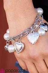 5th Avenue White Bracelet K1 P9409-5