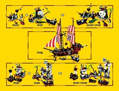 70413 The Brick Bounty ins page 153 (noriart) Tags: lego pirates 2015