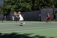 Whistler Tennis Academy Art of Doubles Adult Camp (july 12 2014)