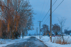 9101- Scne de campagne/Country scene (BLEUnord) Tags: road winter snow rural hiver country route neige campagne valleyfield surot