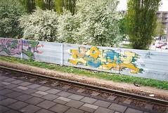 Yalt. Zedz 1994 (DrGarageland) Tags: wall graffiti piece zedz yalt