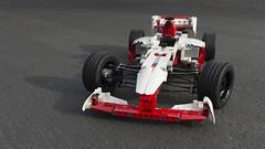 Lego Technic Grand Prix Racer Set 42000 (stecki3d) Tags: car set race lego grand f1 prix technic racer 42000