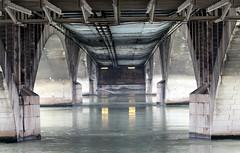 Under the bridge (Croix-roussien) Tags: bridge france architecture graphic lyon pont nationalgeographic rhone