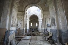 170. Еп.Арсений перед реставрацией храма в Кармазиновке 2008 г