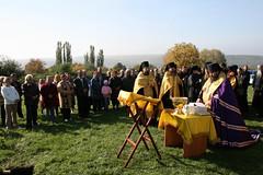 151. Закладка храма в Адамовке 2007 г