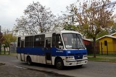 Caio Carolina V // Mercedes-Benz LO-814 // Lnea 1 Sotratal (Talca) ( JotaBBus) Tags: mercedesbenz caio carolinav lo814 pz5795