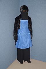 Slave Waitress in Fur Uniform (Buses,Trains and Fetish) Tags: girl fur uniform warm hijab apron torture sweat waitress niqab maid slave burka chador
