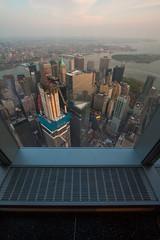 Tower Reflections (China Chas) Tags: nyc usa newyork america skyscraper manhattan wtc 1022mm 2016 oneworldtradecenter
