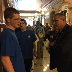 "AJ and Chase Talk with Representative Wheeler • <a style=""font-size:0.8em;"" href=""http://www.flickr.com/photos/109120354@N07/26513197234/"" target=""_blank"">View on Flickr</a>"