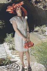 Fashion Shoot #1 ([DaCosta]) Tags: woman girl fashion model dress readhead