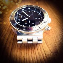 TIMEKEEPER (VINCENT MOYASHI) Tags: wood morning light silver design time steel watch
