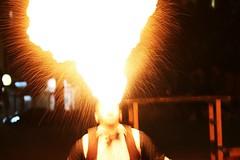 Fire-Eater (Luigi Cavallo) Tags: fire fireeater