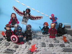 Captain America: Civil War Non-Spoiler Review! (StarSaberSlash) Tags: lego review spiderman ironman vision civilwar falcon hawkeye blackwidow marvel captainamerica blackpanther warmachine scarletwitch antman buckybarnes
