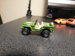 Matchbox 1943 Willy's Jeep (Doc100) Tags: jeep matchbox willys diecast
