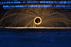 Another steel wool attempt (Millie Smith Photography) Tags: longexposure light wool metal night contrast photography exposure shoot steel wideaperture steelwool