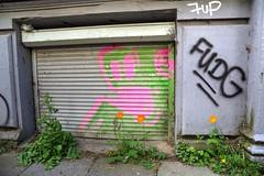 nature strikes back (Rasande Tyskar) Tags: urban green nature hamburg pflanzen graffity foliage stadt grn bltter grnzeug