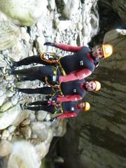 P1120394 (Mountain Sports Alpinschule) Tags: blue mountain sports lagoon canyoning zillertal zemmschlucht alpinschule
