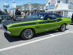 1970 Dodge Challenger T/A (splattergraphics) Tags: dodge 1970 mopar challenger carshow oceancitymd ebody challengerta cruisinoceancity sassygrass