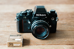 Nikon F3 HP (oct 1981) (leunkstar) Tags: black vintage lens 50mm design nikon focus gear screen ishootfilm retro timepiece e 80s series f3 manual nikkor mechanic analogphotography nikonf3 nikonf3hp ais 50mm18 cameraporn giugiaro cameragear filmphotography f3hp analogcamera nikkor50mm filmisnotdead giorgetto iusefilm 50mm18e nikonseriese50mm vintagenikon nikonseriese nikonseriese50mm18 nikongear giorgettogiugiaro cameraaddict vintagenikkor blackcameras believeinfilm buyfilmnotmegapixels camerastyle filmcomunity staypoorshootfilm wearefilmfolks filmisthefuture