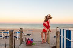 Grvida || Pregnant (Joo.Martins) Tags: sunset portrait portugal canon landscape pregnancy pregnant algarve tavira barril goldenlight goldlight praiadobarril