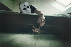 106/365 (Jerem's Photography) Tags: selfportrait self project bedroom autoportrait creepy horror 365days project365days