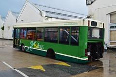Mini Pointer Dart (PD3.) Tags: park uk england bus buses ahead coast pointer south go group mini hampshire damage barton gsc dennis dart l6 401 xela psv pcv eastleigh hants xel goahead vmv w796 xelabus w796vmv l6xel