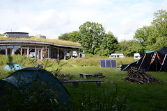 Camped by the hub at Lammas (Permaculture Association) Tags: wales gathering ecovillage permaculture 2016 lammas cyrmu paramaethu