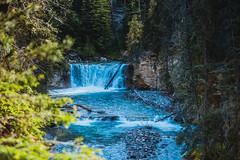 MH5_9222 (memories by Mark) Tags: rockies waterfall alberta banff rockymountains banffnationalpark johnstoncanyon