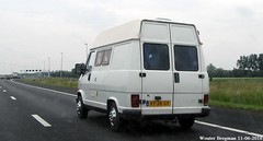 Fiat Ducato 1992 (XBXG) Tags: auto old italy holland classic netherlands car italian automobile italia fiat nederland voiture 1992 van rv camper motorhome paysbas italie a12 bestelbus itali ancienne wagen italienne utilitaire campingcar bestelwagen camionnette bestel kampeerwagen ducato kampeerauto fourgonnette vt28gy