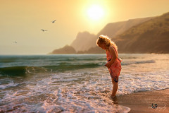 ... The Sound of Ocean ... (Margarita K...) Tags: portrait beach childhood southwales wales sand nikon child south ngc fairytales beautifulwales mkphotography d5200 margaritakphotography