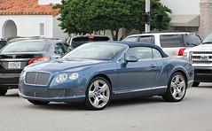Bentley Continental GTC W12 (RudeDude2140a) Tags: blue sports car continental convertible exotic bentley w12 gtc