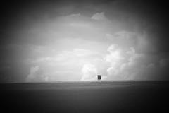 On the field (Michael Retr) Tags: sky cloud white house black field d50 landscape casa nikon natur feld himmel wolke haus cielo sw hunter melancholy schwarz nube jagd weis jger melancholie
