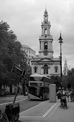 Looking back at St Mary le Strand (IanAWood) Tags: urban cityscapes centrallondon walkingwithmynikon nikondf nikkorafs58mmf14g