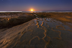 The Mid Night Rambler (sjs61) Tags: ocean nightphotography landscapes surf nightimages lajolla moonlight moonset strawberrymoon steveskinner hospitalsreef steveskinnerphotography sjs61