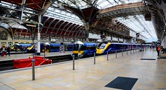 England 2016  London  Paddington station (Michiel2005) Tags: uk greatbritain england london station train unitedkingdom britain paddington railways trein engeland londen spoorwegen vk statie grootbrittanni verenigdkoninkrijk