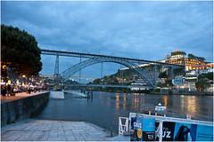 340-PUENTE DE LUIS I Y REFLEJOS EN EL DOURO - OPORTO - (-MARCO POLO-) Tags: ciudades rincones puentes atardeceres rios