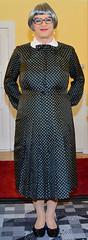 Ingrid022425 (ingrid_bach61) Tags: dress mature kleid pleatedskirt faltenrock