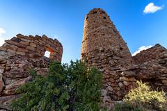 Desert View Watchtower (Jordan Wallace) Tags: blue sunset arizona sky outdoors nikon sigma grand canyon d750 1224 watchtower