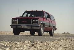 South Of Singing IV (Doha Sam) Tags: summer digital sand nikon raw desert offroad suburban dunes 1991 wilderness gmc qatar burbie d80 southerndesert samagnew smashandgrabphotocom wwwsamagnewcom maketiff manualrawprocessing